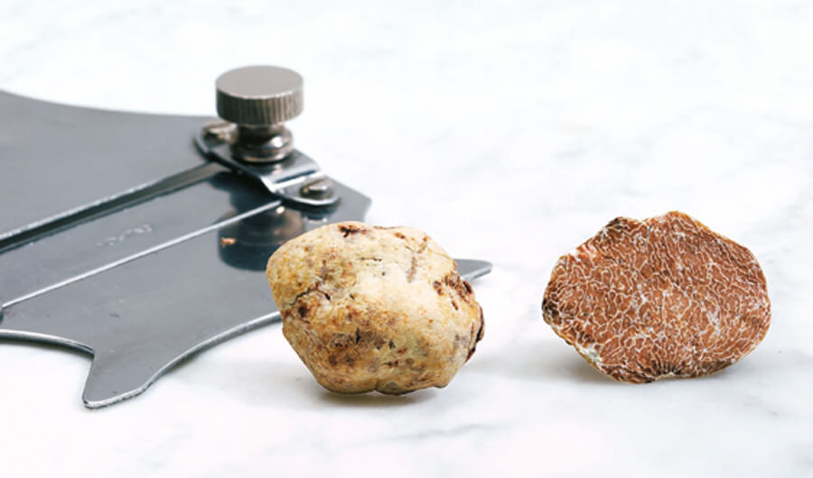 White truffle in cuisine